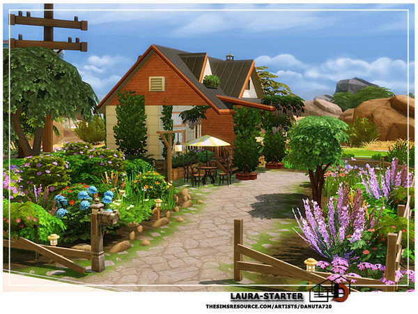 Laura starter by Danuta720 at TSR image 3615 Sims 4 Updates