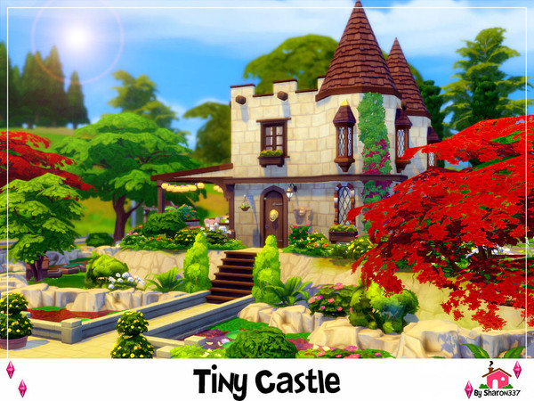 Tiny Castle by sharon337 at TSR image 370 Sims 4 Updates
