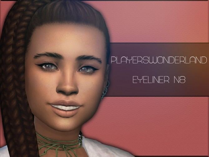 Eyeliner N8 by PlayersWonderland at TSR image 3717 670x503 Sims 4 Updates