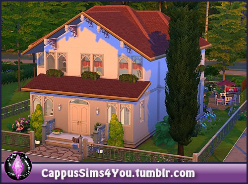 Sims 4 Family idyll at CappusSims4You