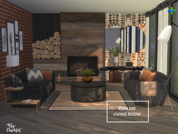 Kohlery Living Room by Chicklet453681 at TSR image 396 Sims 4 Updates