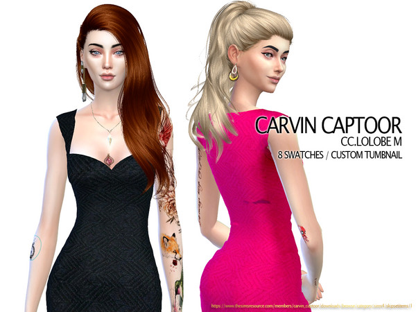 Sims 4 Lolobe M dress by carvin captoor at TSR