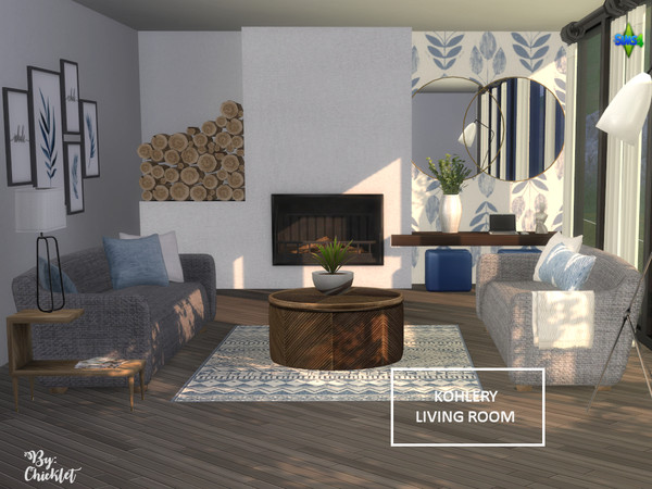 Kohlery Living Room by Chicklet453681 at TSR image 406 Sims 4 Updates