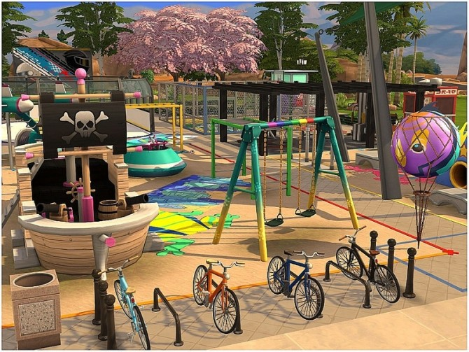 Sims 4 Kids Playground by lotsbymanal at TSR