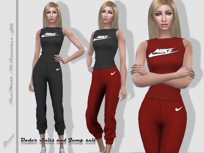 Sims 4 Workout outfit by pizazz at TSR