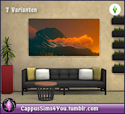 Sims 4 Witcher Paintings at CappusSims4You