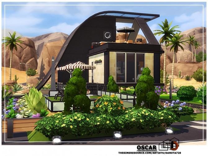 Sims 4 Oscar small home by Danuta720 at TSR