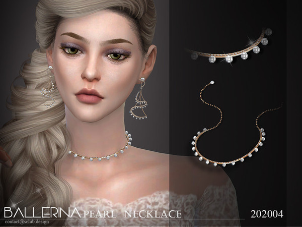 Sims 4 Necklace 202004 by S Club LL at TSR
