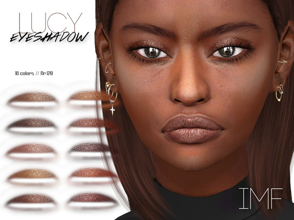 Sims 4 IMF Lucy Eyeshadow N.128 by IzzieMcFire at TSR