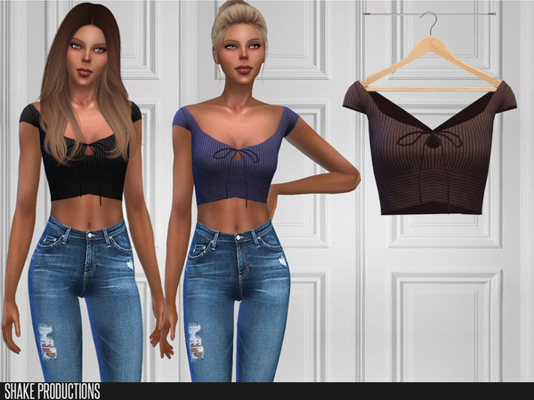 380 Top by ShakeProductions at TSR image 4516 Sims 4 Updates