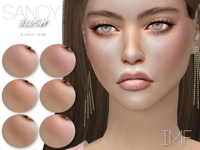 IMF Sandy Blush N.48 by IzzieMcFire at TSR image 4518 670x503 Sims 4 Updates