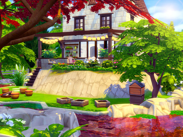 Tiny Castle by sharon337 at TSR image 470 Sims 4 Updates