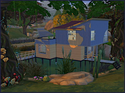 Sims 4 Sumpfige Oase house at CappusSims4You