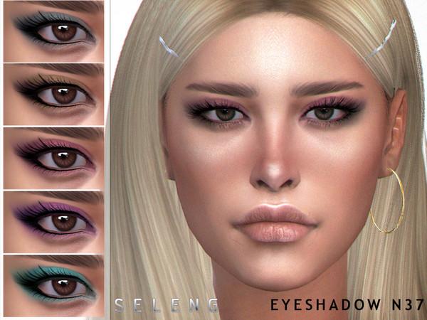 Sims 4 Eyeshadow N37 by Seleng at TSR