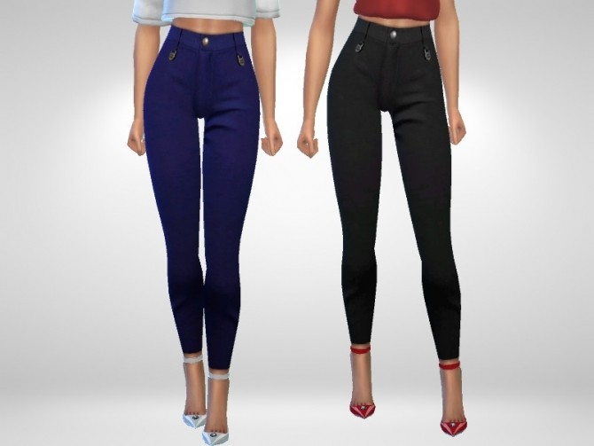 Sims 4 Designer Jeans by Puresim at TSR