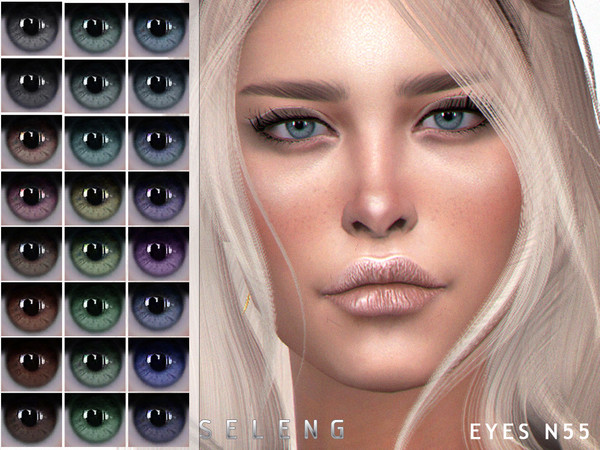 Sims 4 Eyes N55 by Seleng at TSR