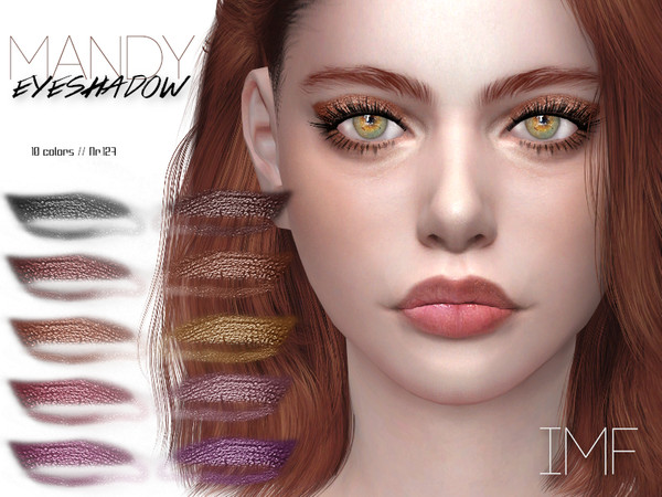 Sims 4 IMF Mandy Eyeshadow N.127 by IzzieMcFire at TSR