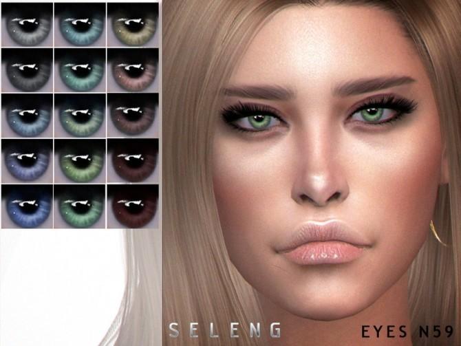 Sims 4 Eyes N59 by Seleng at TSR