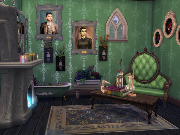 Sims 4 Witchy House by Ineliz at TSR