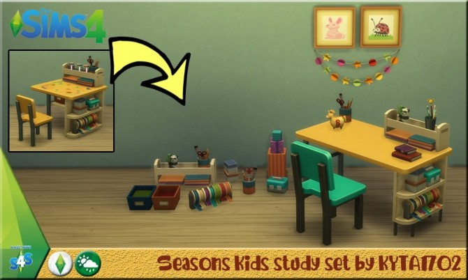 Seasons Kids set at Simmetje Sims image 5214 670x402 Sims 4 Updates