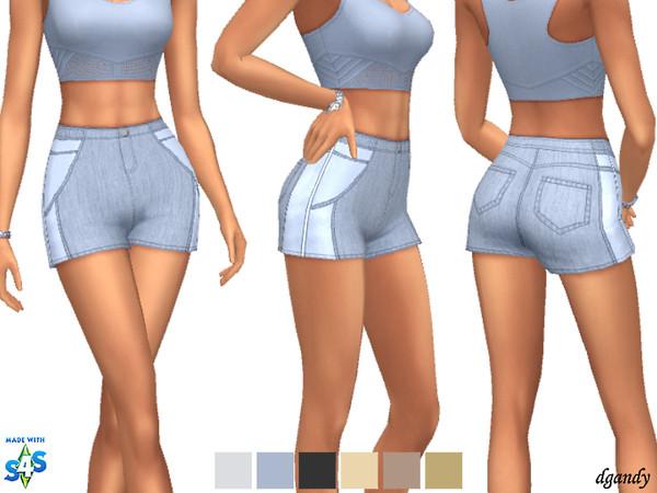 Sims 4 Shorts 20200216 by dgandy at TSR