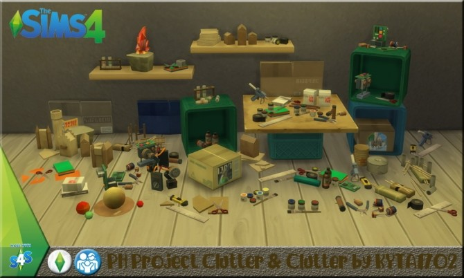 Parenthood Project Clutter at Simmetje Sims image 5312 670x402 Sims 4 Updates