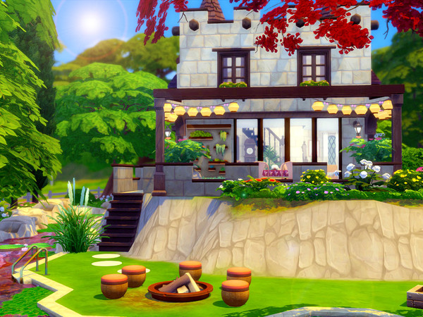 Tiny Castle by sharon337 at TSR image 560 Sims 4 Updates