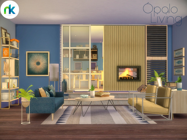 Opalo Living by nikadema at TSR image 5716 Sims 4 Updates