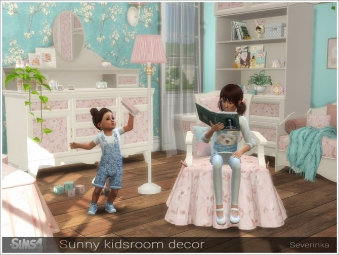 Sunny kidsroom decor by Severinka at TSR image 5718 670x503 Sims 4 Updates