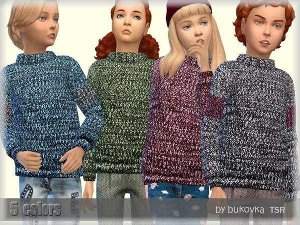Sims 4 Sweater Motley by bukovka at TSR
