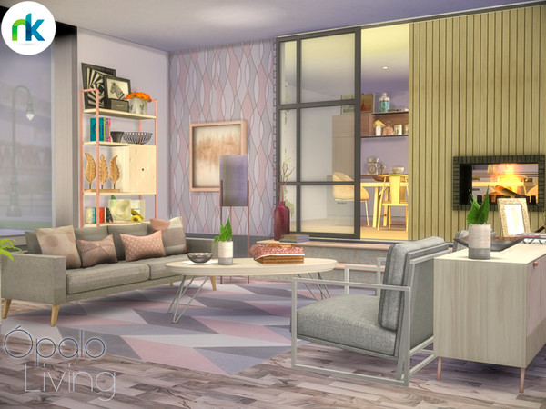 Opalo Living by nikadema at TSR image 5815 Sims 4 Updates