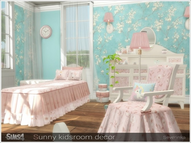 Sunny kidsroom decor by Severinka at TSR image 5817 670x503 Sims 4 Updates