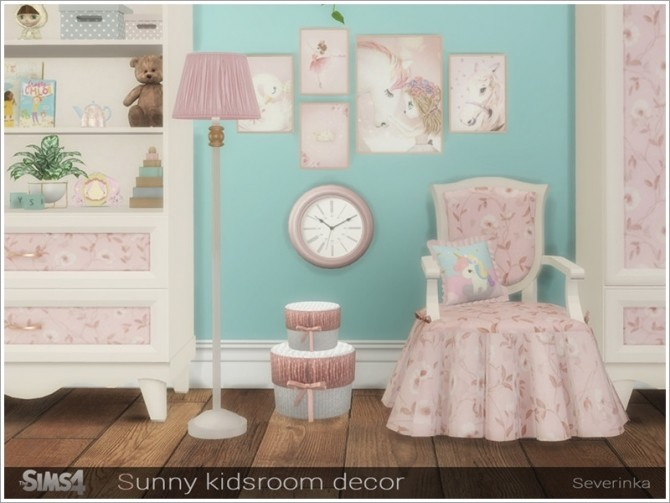 Sunny kidsroom decor by Severinka at TSR image 5918 670x503 Sims 4 Updates