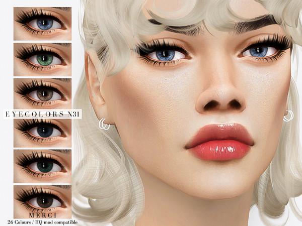 Sims 4 Eyecolors N31 by Merci at TSR