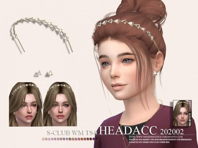 Sims 4 Headacc 202002 C by S Club WM at TSR