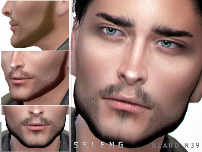 Sims 4 Beard N39 by Seleng at TSR