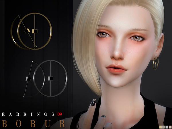Sims 4 Earrings 09 by Bobur3 at TSR