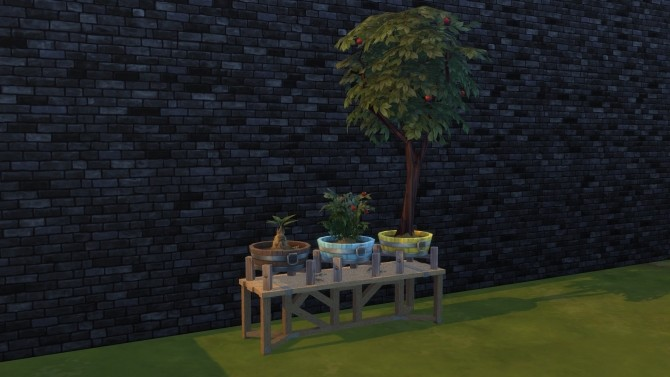 Barrel planter pot by Serinion at Mod The Sims image 607 670x377 Sims 4 Updates