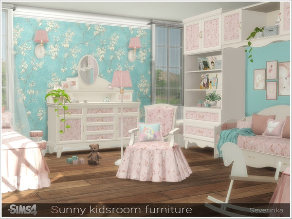 Sunny kidsroom furniture by Severinka at TSR image 6117 Sims 4 Updates
