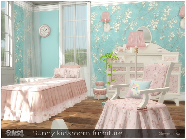 Sunny kidsroom furniture by Severinka at TSR image 6214 Sims 4 Updates
