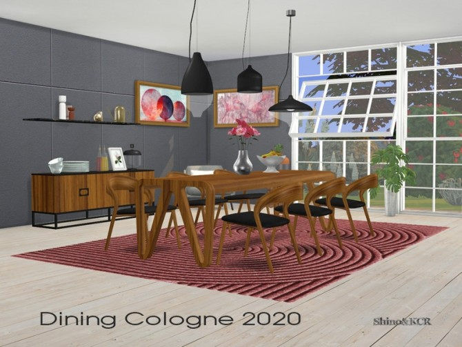 Dining Cologne 2020 by ShinoKCR at TSR image 6220 670x503 Sims 4 Updates