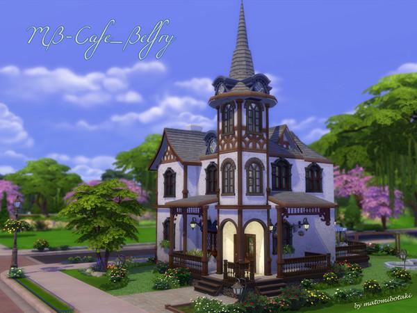 MB Cafe Belfry by matomibotaki at TSR image 629 Sims 4 Updates