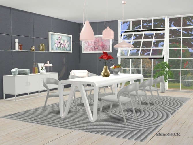 Sims 4 Dining Cologne 2020 by ShinoKCR at TSR