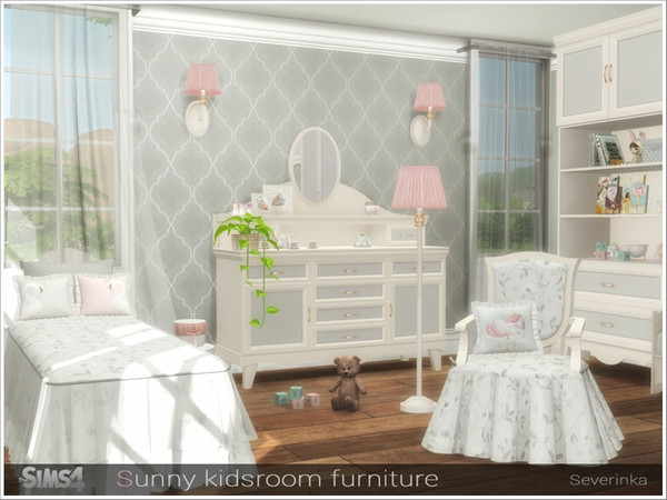 Sunny kidsroom furniture by Severinka at TSR image 6413 Sims 4 Updates