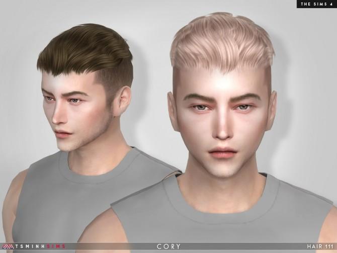 Sims 4 Cory Hair 111 by TsminhSims at TSR