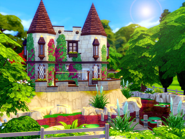 Tiny Castle by sharon337 at TSR image 660 Sims 4 Updates