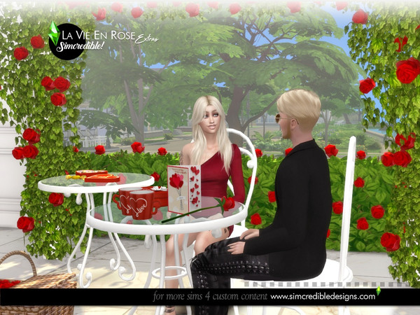 La vie en rose extras by SIMcredible at TSR image 6610 Sims 4 Updates