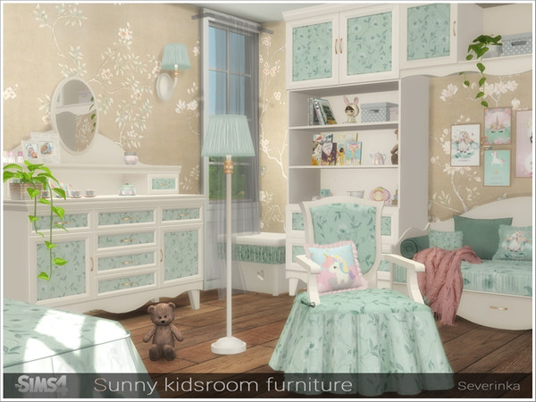 Sunny kidsroom furniture by Severinka at TSR image 6612 Sims 4 Updates