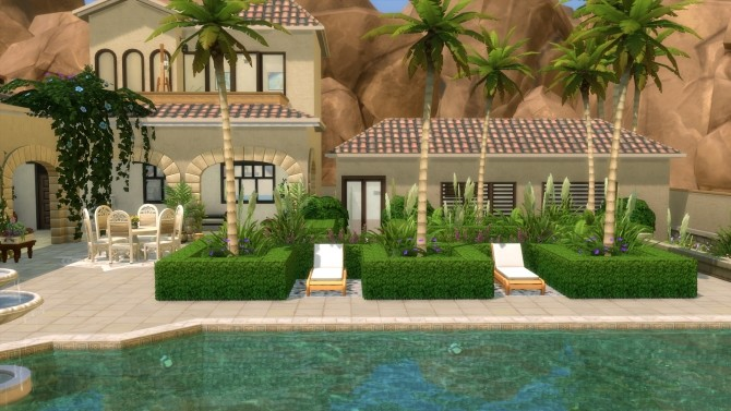 Sims 4 Oasi Palm Rehab Facility by Emyclarinet at Mod The Sims