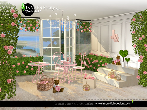 La vie en rose extras by SIMcredible at TSR image 6810 Sims 4 Updates